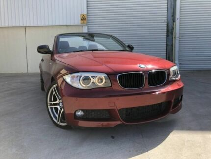 2013 BMW 118d E88 LCI MY1112 Steptronic Red 6 Speed Sports Automatic Convertible