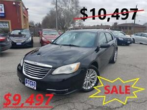 2013 Chrysler 200 Limited w/Leather
