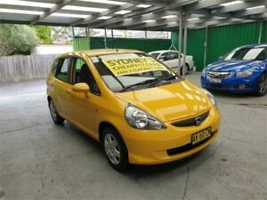 2006 Honda Jazz GD MY06 GLi Yellow 1 Speed Constant Variable Hatchback Croydon Burwood Area Preview