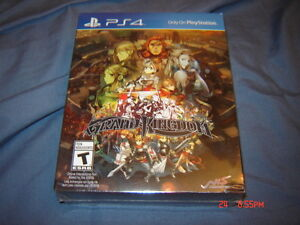 GRAND KINGDOM LIMITED EDITION PS4 SEALED NEUF