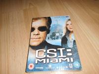CSI:Miami Season 5 dvd boxset for sale