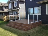 EDMONTON DECK & FENCE BUILDER  - GREAT PRICES