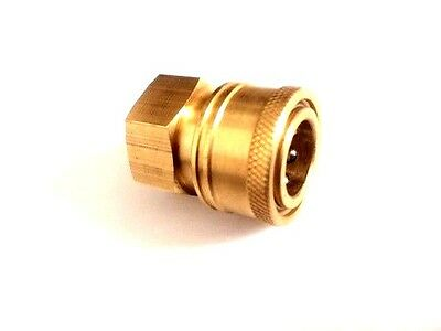 Pressure Washer 38 Female Npt Brass Quick Connect Coupler