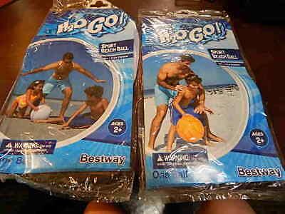 16 Inch Beach Ball (2 Kids Beach Ball H2O GO! 16 Inch Diameter Ages 2+  Pool)