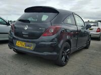 VAUXHALL CORSA D LTD EDITION REAR SPOILER ROOF / TAILGATE 2012 2013 2014 USED