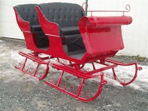 SLEIGH * voitures * cart *  wagon *  fait au QUEBEC !