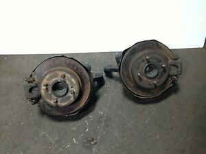 JDM Nissan 240SX S13 Rear Spindle Brakes Rotors Calipers PARTS