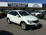 2011 Ssangyong Actyon C100 A200 XDI White 5 Speed Manual Wagon Wangara Wanneroo Area Preview