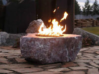 FIRE ROCKS - ADD WARMTH TO YOUR LAWN