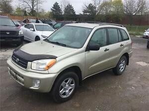 2002 Toyota RAV4 (Low Kms, Accident Free)