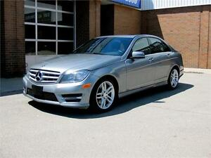 2013 Mercedes-Benz C300 4Matic + Navigation + Accident Free