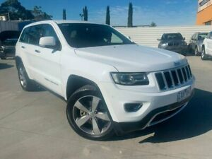 2013 Jeep Grand Cherokee WK MY2014 Limited White 8 Speed Sports Automatic Wagon Dandenong Greater Dandenong Preview