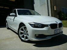 2012 BMW 320D F30 White 8 Speed Automatic Sedan Willagee Melville Area Preview