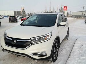 2015 Honda CR-V TOURING, HONDA CERTIFIED, NAVI, AWD, LEATHER