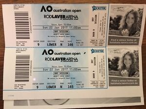 Rod Laver Arena Day Session 22nd Jan 2017 St Kilda West Port Phillip Preview