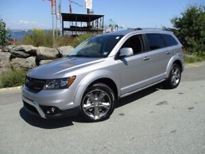 2017 Dodge JOURNEY Crossroad (ONLY 000100 KMS!! V6, 7-PASS, AWD,