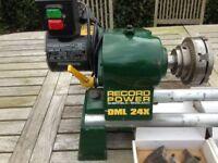 Record power DML x24 wood lathe