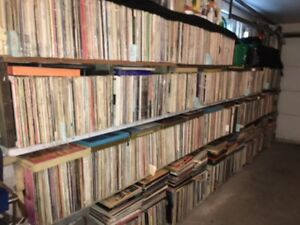 RECORD COLLECTION FOR SALE LIQUIDATION!
