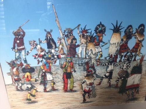 Neil David Katsina Ceremonial Painting