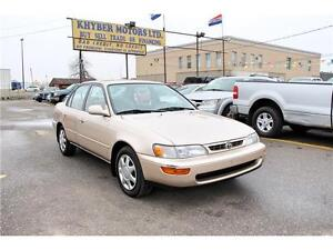 1996 Toyota Corolla LX*Certified*E-Tested*2 Year W