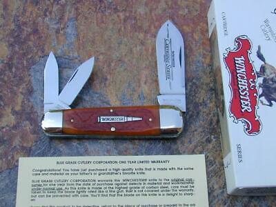 2003 WINCHESTER CARTRIDGE SERIES SUNFISH TOENAIL WHITTLER USA KNIFE RARE 18+ NM