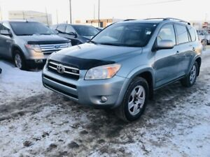 2008 Toyota RAV4 Limited 4WD, Leather, One Owner, No Accident, S