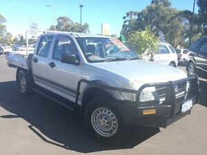 2004 Holden Rodeo RA LX Crew Cab Silver 5 Speed Manual Cab Chassis Bunbury Bunbury Area Preview