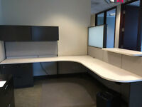 High End Steelcase Cubicles and Cabinets