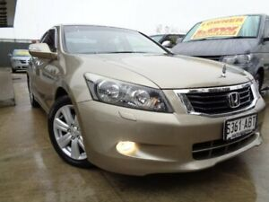 2009 Honda Accord 8th Gen V6 Luxury Gold 5 Speed Sports Automatic Sedan Enfield Port Adelaide Area Preview