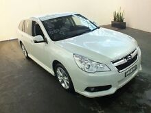 2012 Subaru Liberty MY13 2.5I Premium White Continuous Variable Wagon Clemton Park Canterbury Area Preview