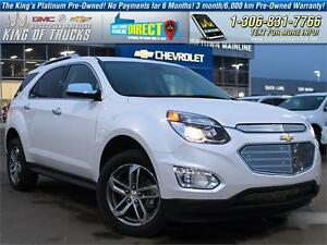 2016 Chevrolet Equinox LTZ One Owner | PST Paid | ONLY 5,001 KM