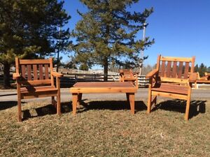 YEAR END CLEARANCE SALE- 20% OFF-Custom built lawn furniture