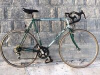 VINTAGE RETRO RALEIGH PRO RACE ROAD RACING BIKE IDEAL STUDENT COMMUTER COURIER