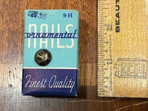 Vintage Ornamental Upholstry Nails