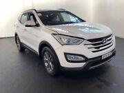 2015 Hyundai Santa Fe DM MY15 Active CRDi (4x4) White 6 Speed Automatic Wagon Clemton Park Canterbury Area Preview