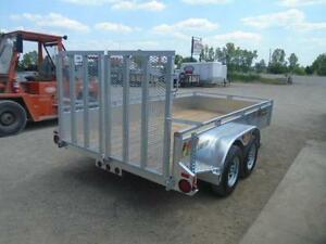 HIGH SIDED GALVANIZED LANDSCAPE TRAILER - 12' LONG CANADIAN MADE London Ontario image 2