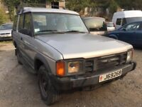 Land Rover Discovery V8 left hand drive, starts and drives, jersey registered, car located in Graves