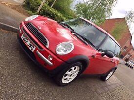 MINI ONE RED 2002 1.6 PETROL