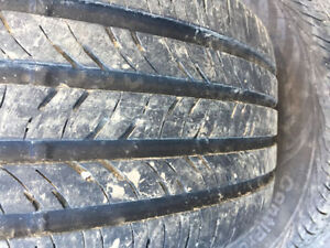 235/55R17 SUMMER TIRES LIKE  NEW