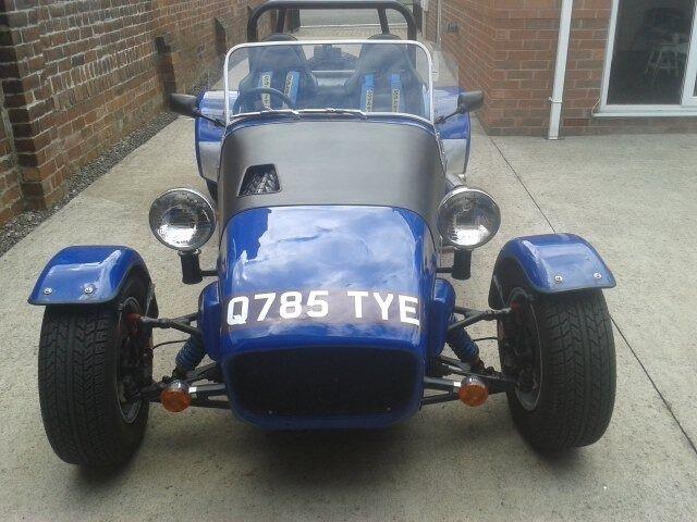 Kit Car Locost Seven Miles From Build Classic Car