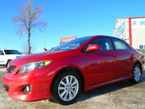 2009 Toyota Corolla S SPORT EDITION--SUNROOF--ONE OWNER-CLEAN