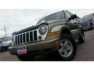 2005 Jeep Liberty Ltd. Edition /Auto,Leather,Diesel,4X4,S-Roof/
