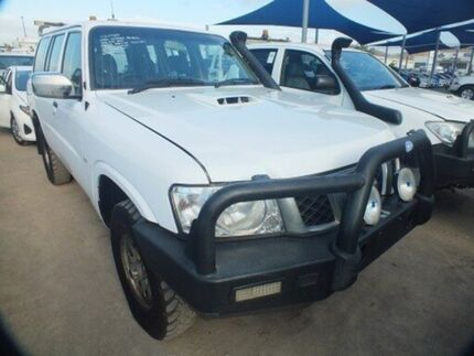 2011 Nissan Patrol GU VII DX (4x4) White 4 Speed Automatic Wagon Bohle Townsville City Preview