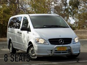 2014 Mercedes-Benz Vito 639 MY14 113CDI White 5 Speed Automatic Wagon Enfield Port Adelaide Area Preview