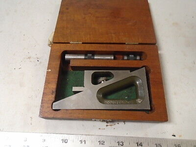 Machinist Tool Lathe Mill Machinist Lufkin Planer Gage Gauge In Case