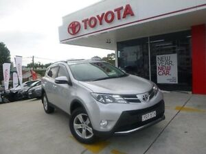 2013 Toyota RAV4 ZSA42R GXL (2WD) Silver Pearl Continuous Variable Wagon Allawah Kogarah Area Preview