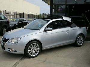 2010 Volkswagen EOS 1F MY10 155 TSI Silver Metallic 6 Speed Direct Shift Convertible