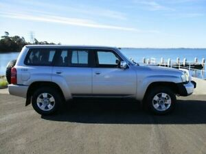 2006 Nissan Patrol GU IV ST (4x4) Silver 5 Speed Manual Wagon Horsley Wollongong Area Preview