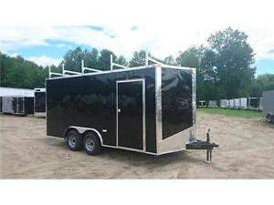 $6,495 · NEW SOUTH CARGO 8,5X 16 + V NOSE TRAILERS