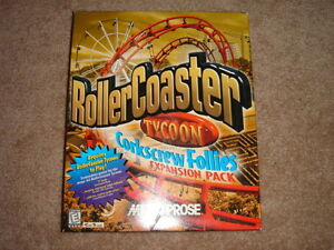 Roller Coaster Tycoon - Corkscrew Follies Expansion Pack (PC)